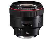 Canon EF 85mm f/1.2L IS USM II