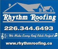 PROFESSIONAL ROOF INSTALLATION*WORKMANSHIP GUARANTEED*
