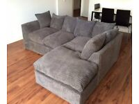 Offer your choice BRAND NEW DYLAN JUMBO CORD Corner Sofa And 3+2 Seater Sofa AVAILABLE