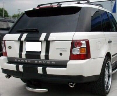 """Range Rover 22"""" Center Rally stripes Stripe Graphics Decals Fit All Year Model"""