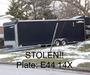 28 ft trailer and race car London Ontario image 2
