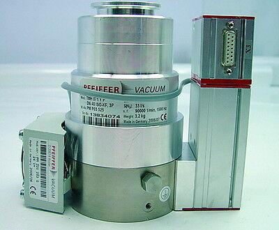 Pfeiffer Tmh 071p Balzers Turbo Vacuum Pump Tc100 P Molecular With Tcs010