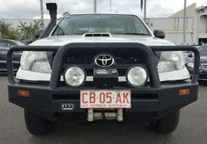 2010 Toyota Hilux KUN26R MY10 SR White 5 Speed Manual Utility Berrimah Darwin City Preview