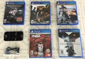 PS4 Games & Earphone