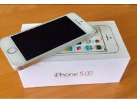 Brand new iPhone 5s silver warranty
