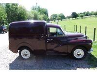 Superb Morris Minor Van