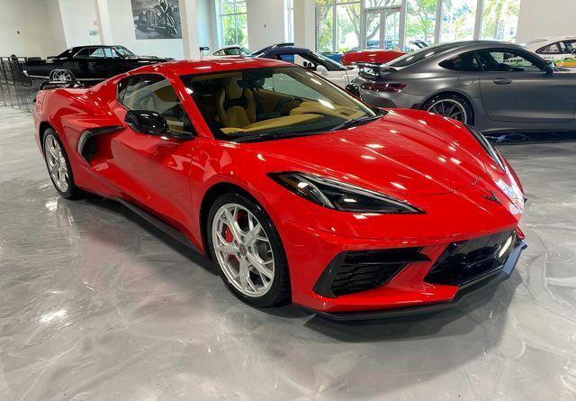 2021 Red Chevrolet Corvette  3LT | C7 Corvette Photo 1