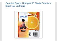 Epson Orange 33 ink cartridge black claria