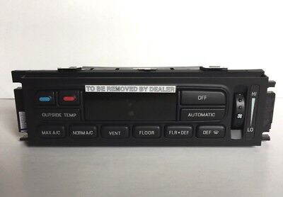 (OEM Ford Climate Control Unit 3W7Z 19980 AA )