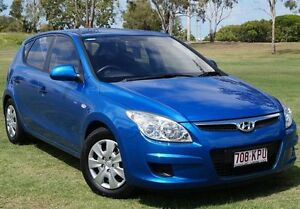 2007 Hyundai i30 FD SX Blue 5 Speed Manual Hatchback Bundaberg West Bundaberg City Preview