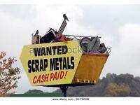 Scrap metals collection,CASH PAID £,copper,aluminium,brass,garage clearance