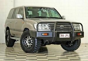 2003 Toyota Landcruiser UZJ100R GXL Grey 4 Speed Automatic Wagon Burleigh Heads Gold Coast South Preview