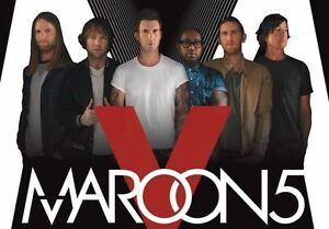 Maroon 5 concert - Bell Centre Montreal - Friday Feb 24 2017