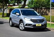 2014 Honda CR-V RM MY15 VTi-S 4WD Silver 5 Speed Sports Automatic Wagon Medindie Walkerville Area Preview