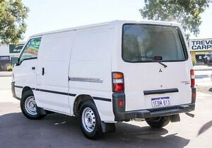 2012 Mitsubishi Express SJ MY12 SWB White 5 Speed Manual Van Cannington Canning Area Preview