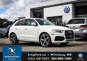 2016 Audi Q3 Technik AWD w/ Winter Tires + Rims/Nav/Sunroof/Bac