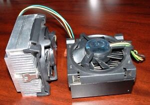 Pentium 3 computer heat sinks and fans