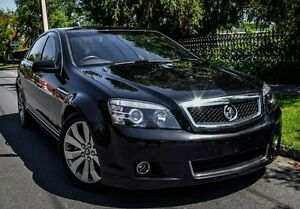 2013 Holden Caprice WM II MY12.5 V Black 6 Speed Sports Automatic Sedan Medindie Walkerville Area Preview