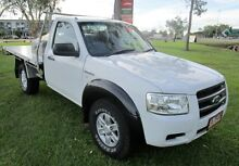 2008 Ford Ranger PJ XL Hi-Rider White 5 Speed Manual Cab Chassis Berrimah Darwin City Preview