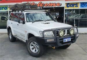 2004 Nissan Patrol GU IV ST (4x4) White 4 Speed Automatic Wagon Cannington Canning Area Preview
