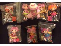 6 la la loopsy dolls with accessories