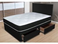 Double divan bed- brand new - free delivery