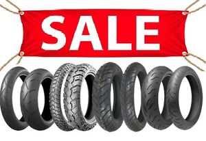 MOTORCYCLE TIRES - MULTIPLE SIZES IN STOCK - SALE SALE SALE