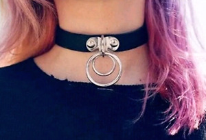 Leather Punk style Choker
