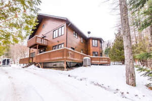 Haliburton Chalet with Ski-In Ski-Out
