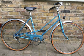 Ladies road bike Motobecane , frame size 19in - 5 speed - serviced & warranty - MINT new condition