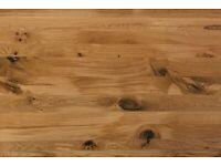 Oak Kitchen Dining Table All Size/Colours Modern Farmhouse
