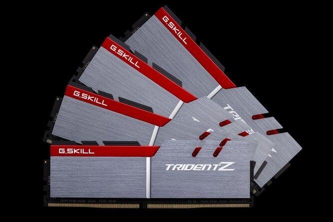 G SKILL Trident Z Memory 32GB(8x4) RAM DDR4 3200MHz RAM Gaming Computer  F43200C16Q32GTZB Intel Ryzen | in Leith Links, Edinburgh | Gumtree