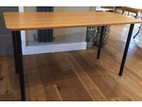 Ikea Hilver bamboo table or desk.