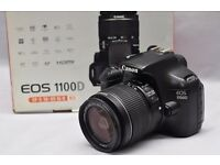 Canon 1100D full set, 18-55mm III. All with box, Excellent condition