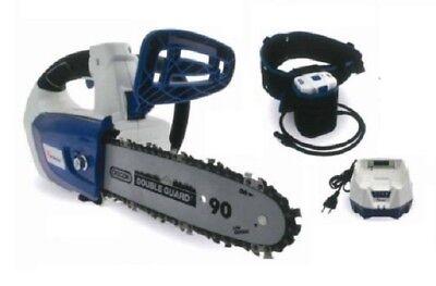 Motosierra de Poda con Batería 58V Zomax 502 4AH+Cargador+Cinturón Poda