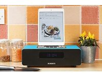 Roberts 'Bluetune 65' DAB/DAB+/FM RDS Bluetooth Sound System with Dock for iPad, iPhone & iPod