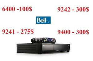 BELL SATELLITE RECEIVERS 9242 / 9400 / 6400 / 9241 / 6131 / 6141