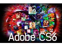Adobe Master Collection CS6 incl. Photoshop / Illustrator / InDesign / Premier Pro for Windows / Mac
