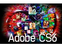 Adobe Master Collection CS6 for Windows & Macbook / Imac .
