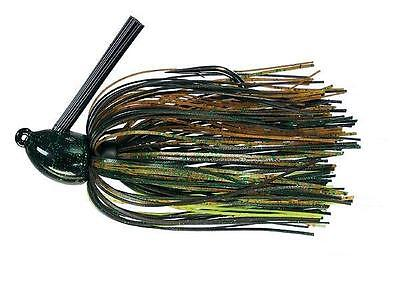 Strike King Jig Hack Attack Heavy Cover HAHCJ38-8 Texas Craw 3//8oz
