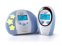 ALECTO DECT baby nanny / monitor with light lullabies and two way communication