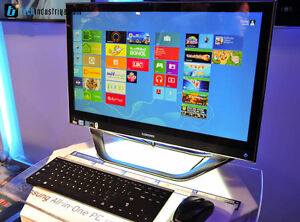 """SAMSUNG All-in-One Computer Windows 10 ordianteur 27"""" Intel i7"""
