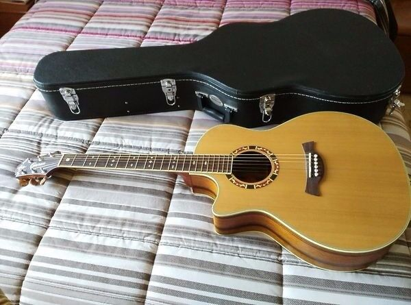 Selling Crafter Guitar GAE-15 L/N electro-acoustic with hard case