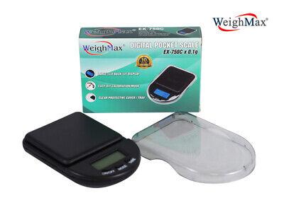 Authentic Weighmax Digital Pocket Scale Ex-750c 750g X 0.1g