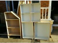 FREE wood / cupboards ideal for garage/shed/workshop