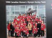 1998 Canada Womens Olympic Hockey Team Poster