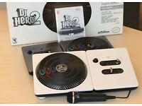 Nintendo Wii dj hero 2 including remote compatible with Wii u