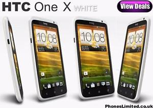 """NEW UNLOCKED ( WHITE/BLACK ) 4.7"""" HTC ONE X219$514-298-3109CALL NOW"""