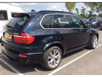 BMW X5 M SPORT SUV 3.0D AUTO (2008) *TOP SPEC* 7-SEATS PANORAMIC-ROOF CREAM-LEATHER 1-OWNER HPI CLR