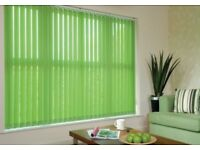 Vertical blinds to suit your windows x3 from £120
